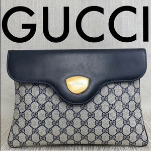 👑 GUCCI LARGE EVENING BAG / CLUTCH 💯AUTHENTIC